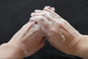 新型コロナウイルス対策手洗い