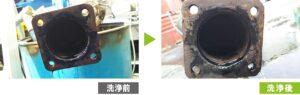 ディーゼル微粒子捕集フィルター(DPF/DPR/DPD)洗浄ビフォアフター