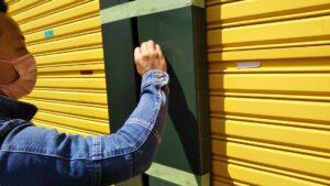 G-Eco工法劣化塗装再生施工中